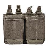 5.11 Tactical Series Flex Dbl Ar Mag - Bolsillo adicional (16 cm), Ranger Green (Verde) - 56423-186-1SZ