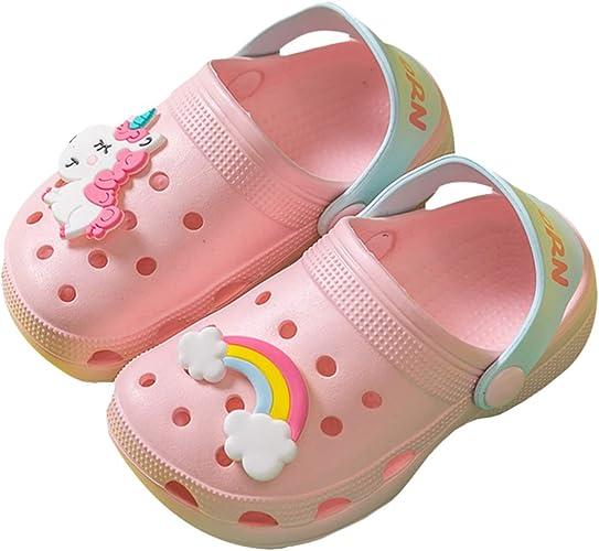 Toddler Unicorn Shower Slide Sandals Summer Slippers Lightweight Garden Shoes