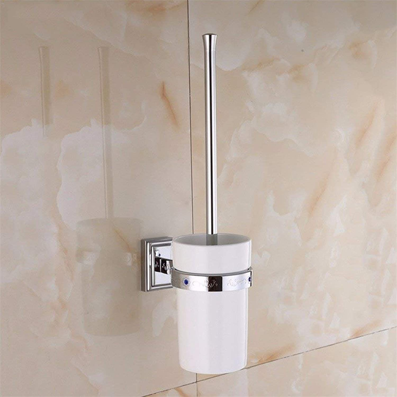 The Veneer of Chromium Copper Acc Dry-Towels Bar Bathroom Dry-Towels bluee Kit,Toilet Drill The Brush Holder