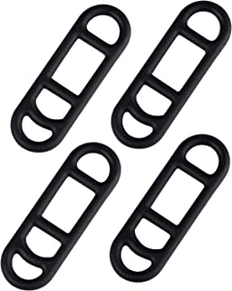 Ascher Bike Silicone Mount Band, Cycling Bicycle Rubber Straps, Pack of 4