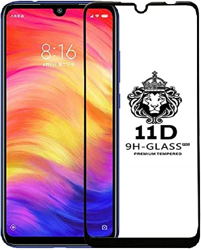JGD PRODUCTS 11D Full Tempered Glass Screen Protector For Redmi Note 7 Redmi Note 7 Pro Edge To Edge Coverage