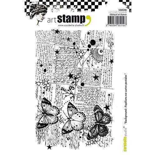 Realizzazione di Biglietti e Scrapbook Carabelle Studios- Timbri Cling di Carabelle Studio per Stampa su Carta h/érisson SMI0208 Colore Multi-Colour