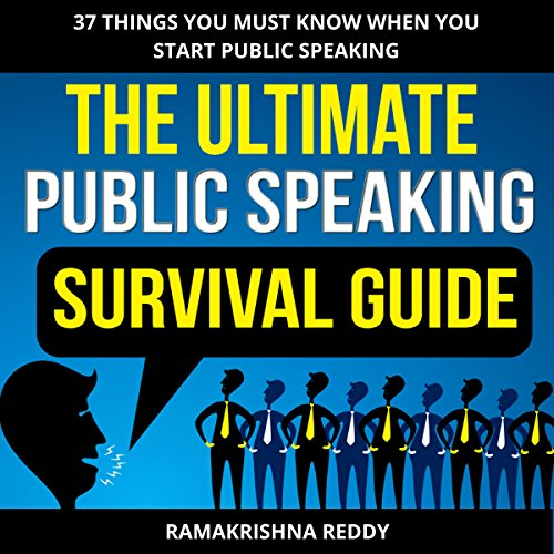 The Ultimate Public Speaking Survival Guide Titelbild