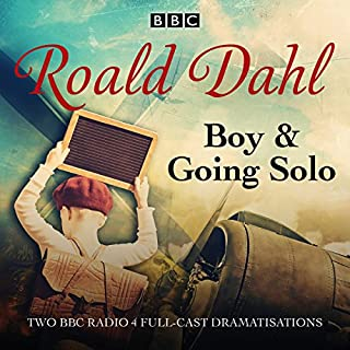 Boy & Going Solo audiobook cover art