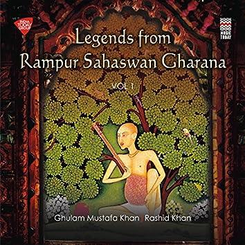 Legends from Rampur Sahaswan Gharana, Vol. 1