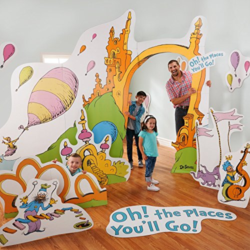 Dr. Seuss Oh The Places You'll Go Stand in