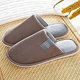 direction Calzado Adulto Unisex,Pantuflas de algodón para Hombres y Mujeres Pantuflas Pantuflas de Piel-4_40-41#,Zapatos Minimalistas