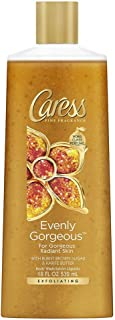 Caress Evenly Gorgeous Exfoliating Body Wash 18 oz (Pack of 6)