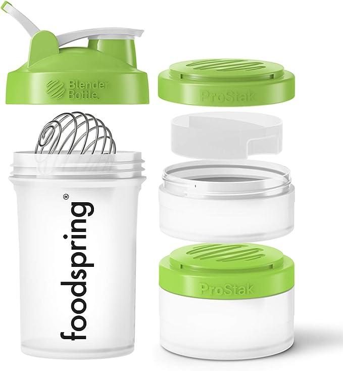 2613 opinioni per foodspring- Premium Shaker da 650ml- Il tuo shaker tutto in uno, multiuso e