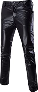 Mens Night Club Metallic Gold Suit Pants/Straight Leg Trousers