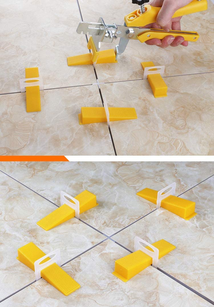 CellCase 200pcs 1//8 Tile Leveling System Clips Tiles Leveler Spacers for Professional Ceramic Tile and Stone Installation 1//8-200pcs