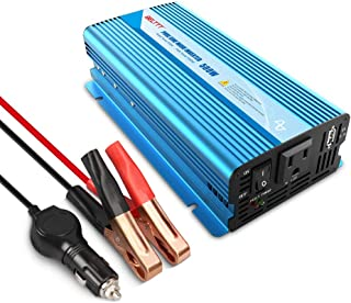 $66 » Sponsored Ad - BELTTT 500W Pure Sine Wave Inverter DC 12V to AC 120V 60HZ Car Power Converter with USB Port and Clip Charg...