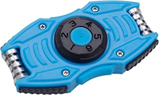 Dr.Qiiwi Car Type Fidget Spinner Toy, Ultra Durable High Speed Pressure Releaser for Adult and Children (Blue)