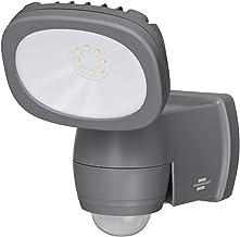 Brennenstuhl batterij-LED-spot LUFOS/draadloze LED-buitenspot met batterij en bewegingsmelder (met 8 merk-LED's, 440 lume...