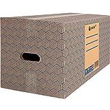 Packer PRO - Pack 12 Cajas Carton para Mudanzas y Almacenaje 600x300x275mm Ultra...
