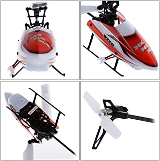 xk blast k110 mini 3d flybarless rc helicopter