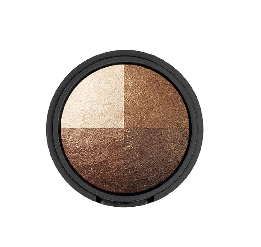 手荷物外交官公演WAKEMAKE Eye Styler Eyeshadow 4色のアイシャドウパレット#7 REAL BROWN(並行輸入品)
