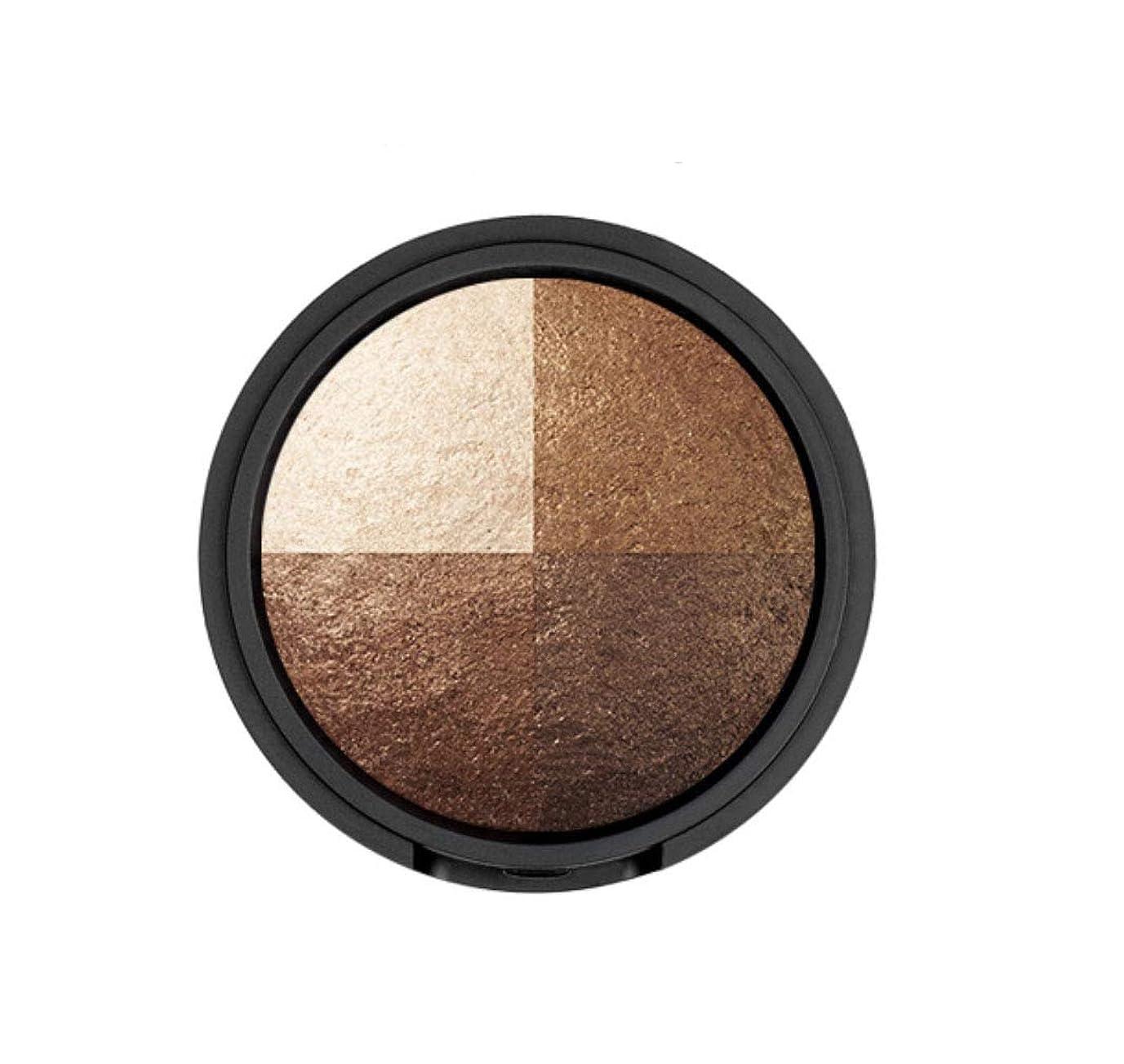 殺人メダルキャプチャーWAKEMAKE Eye Styler Eyeshadow 4色のアイシャドウパレット#7 REAL BROWN(並行輸入品)