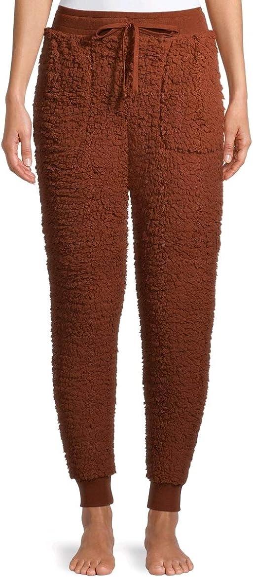 Cinnamon Spice Sherpa Ankle Pants