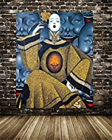 DIY-5Dダイヤモンドアートキット,フルラウンドドリル、50x70cmの現代抽象レトロ女性絵画、ラインストーンクリスタル刺繡写真家の壁の装飾のためのクロスステッチアートクラフト