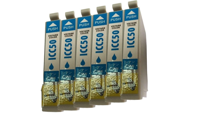 エプソン汎用インク ICC50対応汎用インク シアン6本