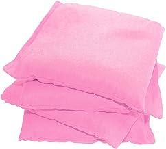 Driveway Games All Weather Cornhole Bean Bag Set. 4 Waterproof Regulation Corn Toss Bags