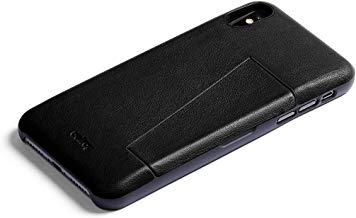 Bellroy Leather iPhone Xs Phone Case - 3 Card - Black