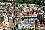 DesFoli Jena Deutschland Stadt Skyline Poster Kunstdruck