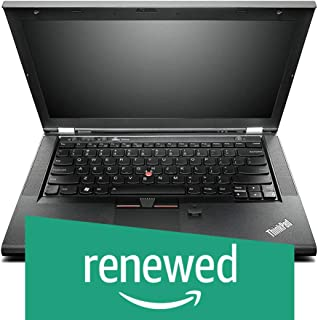 (Renewed) Lenovo Thinkpad T430-i5-4 GB-320 GB 14-inch Laptop (3rd Gen Core i5/4GB/320GB/Windows 7/Integrated Graphics), Black