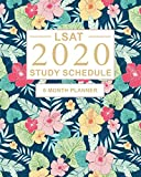 LSAT Study Schedule: 6 Month Planner for the Law School Admission Test (LSAT). Ideal for LSAT prep...