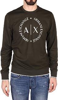 Armani Exchange Men's Stretch Poly Rayon Interlock Sweatshirt