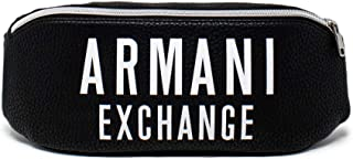 A|X Armani Exchange Men's Belt Bag with Oversized Logo