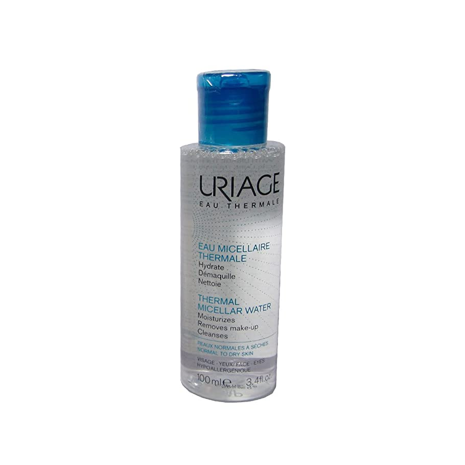 関与する発動機試みるUriage Thermal Micellar Water Normal To Dry Skin 100ml [並行輸入品]