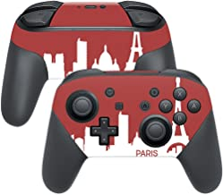 MightySkins Skin Compatible with Nintendo Switch Pro Controller - Paris   Protective, Durable, and Unique Vinyl Decal wrap Cover   Easy to Apply, Remove, and Change Styles   Made in The USA