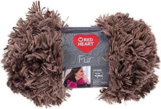 brown fur yarn