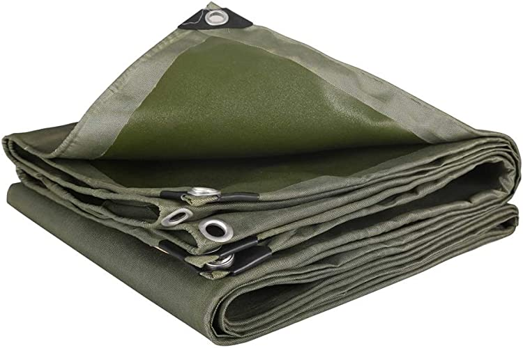 LIAN Bache épaisse Toile imperméable Tissu imperméable à la Pluie Camion bache Parasol bache Isolation bache extérieure bache (Taille   3x3m)