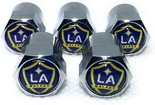 Black Wincraft Soccer Los Angeles Galaxy 14555115 Crystal Mirror License Plate