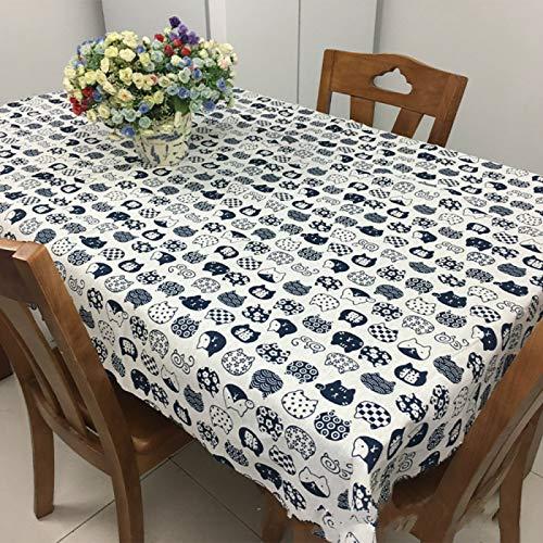 YOUYUANF Mantel Mantel Rectangular Mesa de Comedor Mantel Cocina Decoración Mantel Rectangular150x180cm