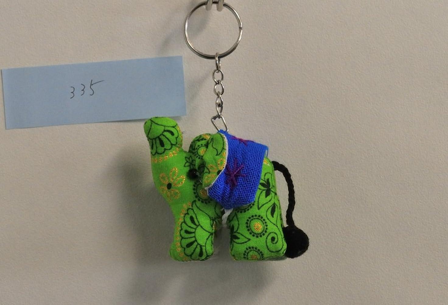 ホイッスル出席のどモン族 象のキーホルダー335