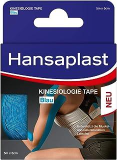 Hansaplast Kinesiologie Tape, wasserfestes Sporttape lindert Muskelschmerzen und fördert..