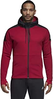 adidas M ID CH STA FZ Sudaderas con Capucha para Hombre Rojo XS