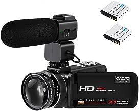 handheld 4k video camera