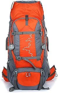 Mochila de viaje Bolsa de alpinismo Mochila de alpinismo profesional de gran capacidad for acampar al aire libre 85L Mochila de alpinismo Camping, senderismo, senderismo, escalada, escalad
