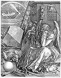 Galería de Arte de Australia Albrecht Dürer Melencolia Iwooden Jigsaw Puzzles Juguete de 500 Piezas para Adultos DIY Challenge Décor