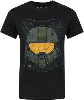 Official Halo 5 Master Chief HUD Helmet Men's T-Shirt
