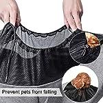 aofook Adjustable Dog Pet Sling Waterproof Carrier Bag with Soft Shoulder Pad Zippered Pocket for Outdoor Travel (Grey, Adjustment) 10