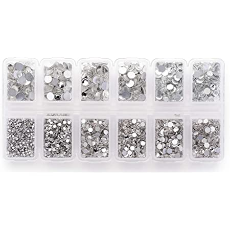 Clothing Shoes DIY Craft Gems for Clothes Garment 21mm Clear Premium Clear Flatback Beads Buttons with Bling Diamond Wedding Party Decoration Dress Bags 25Pcs Crystal Rhinestones Sewing on
