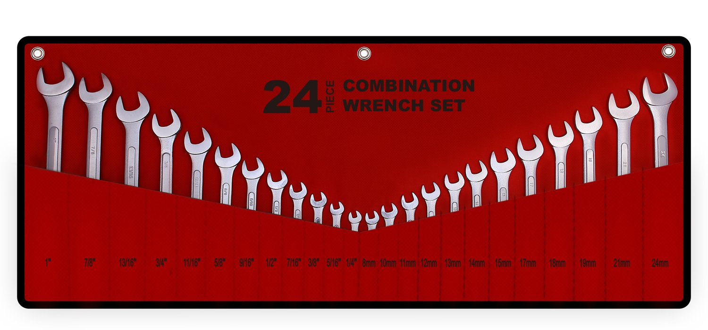 24 Piece Master Combination Roll up Storage