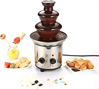 Chocolate Fountain Machine,3-Layer Stainless Steel Hot Pot Heating And Control Device Chocolate Professional Hot Pot Set, ...