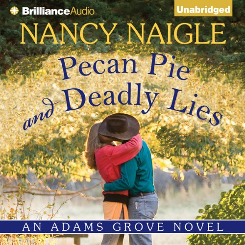 Pecan Pie and Deadly Lies audiobook cover art